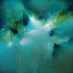 """Breaking Waters #2"" by Cody Hooper, 24x24"" acrylic/panel. #abstractart…"