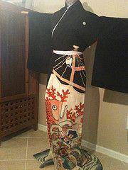 """""""Fish and Takara"""" Hikizuri"""