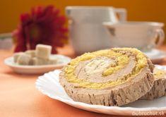 Banánová roláda   Dobruchut.sk Czech Recipes, Coffee Cake, Muffin, Pie, Breakfast, Sweet, Food, Cakes, Basket