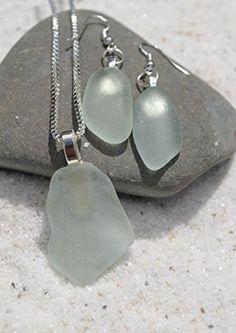 Genuine Pale Aqua Sea Glass Sterling Silver Earrings and ... http://www.amazon.com/dp/B012ZVWDVK/ref=cm_sw_r_pi_dp_blysxb1EG3XNZ