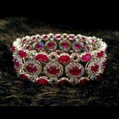 @anna_shia. #Ruby diamond bracelet#ruby #luxuryfashion #fashion #fashiondesign #fashionjewelry #diamond #diamondbracelet #luxury #luxurybracelet  #bracelet#oval #ovalface #gemstonejewellery #gemstone #gemstones #gem #gemstonebracelet #love #lovejewelry #mylove #myloves#burma #burmaruby
