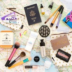 Here Is the in-Flight Beauty Routine You Should Swear By   Brit + Co