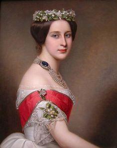 Grand Duchess Alexandra Iosifovna attributed to Joseph Karl ...