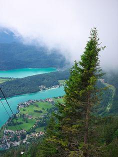 Walchensee in Bavaria, Germany