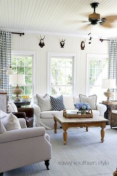 My Eclectic Summer Sunroom Savvy Southern Style