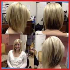 Angled Bobs With Bangs | Short