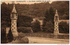 Clervaux - Le Pont et l'entrée de la Ville - PIB