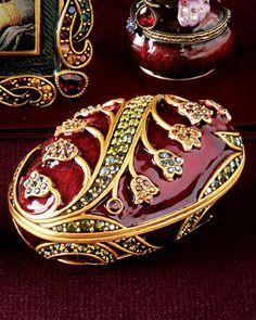 # oval box trinkets