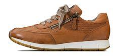 Schicker Sneaker Diese Sneaker von Paul Green vereinen Komfort mit trendigem Design. Dieses Modell ist ideal, um modische Akzente zu setzen und bietet, dank des herausnehmbaren pg+ - Wechselfußbetts aus Kork, auch jenen Trägerinnen mit losen Einlagen einen stylischen Schuh.