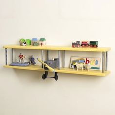 Childrens toy shelves and bookcases Toy Shelves, Bookcase Shelves, Wooden Shelves, Floating Shelves, Shelving, Shelf Furniture, Kids Furniture, Furniture Design, Chambre Nolan