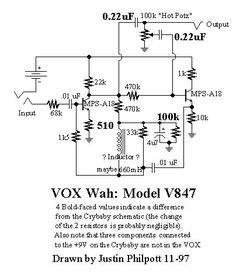 Shema Dunlop Jimi Hendrix Wah Reverb Electronics Arduino A Circuit