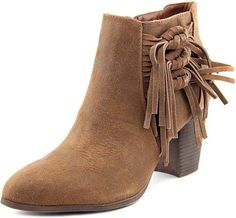 e4d7f7e4ed6d Fergalicious Clover Women Round Toe Leather Ankle Boot NWOB in Clothing