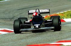 Mike Thackwell (NZL) - Tyrrell 012 - German Grand Prix, Hockenheim, 5 September 1984 - © Sutton Motorsport Images