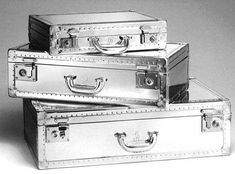 The New Dunhill Aluminum Luggage Collection #luggage trendhunter.com