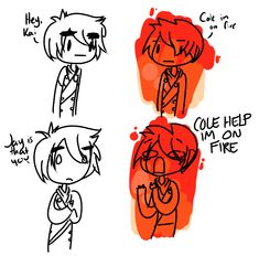 Is it bad that I sang the bottom line like this girl's on fire? That should definitely be a parody. COLE, HELP I'M ON FIYAAAAAAAAA! XD