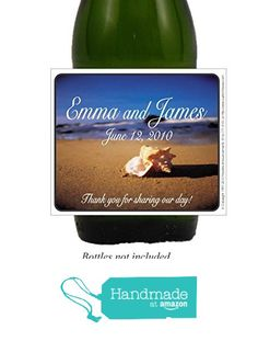 Personalized Beach Self Adhesive Wedding Labels (set of 24)(L255) from Favorite Announcements http://www.amazon.com/dp/B016NG2LC4/ref=hnd_sw_r_pi_dp_Ha9hwb1K6D40E #handmadeatamazon