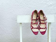 Terciopelo rosa Velvet Shoes, Shoe Rack, Mary Janes, Flats, Fashion, Templates, Pink, Loafers & Slip Ons, Moda