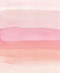 Pink Watercolor Print, Pink Abstract Art, Pink Abstract Printable Art, Blush Wall Art, Blush Prints,