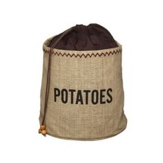 Kitchen Craft Natural Elements Hessian Sac de conservation de pommes de terre…