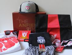 The Anfield Box Subscription Box Review - Summer 2016 - Read my review of the first-ever Anfield Box from The Anfield Shop!