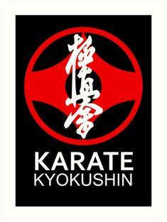 Symbolische Darstellung für Kyokushin Karate(härtester Stil, Full Contact).