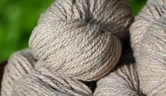 100% CVM wool yarn. Millspun from Pheasant Field Farms Holly 150 yards, 3 ply…