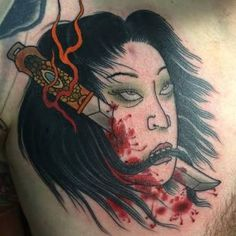 namakubi tattoo - Google Search