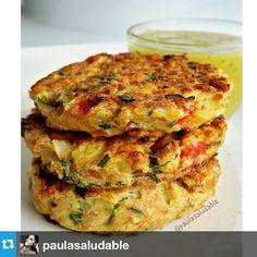 """54 Me gusta, 1 comentarios - KataFitness (@katafitness2014) en Instagram: """"#Repost from @paulasaludable with @repostapp --- Tortitas de Atun y Papa 1 Lata de atun grande 1…"""""""