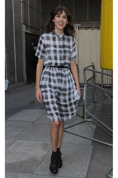 Our Favorite Back-to-School Outfit Ideas from Celebs: Alexa Chung