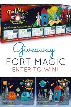Fort Magic Giveaway www.spaceshipsandlaserbeams.com
