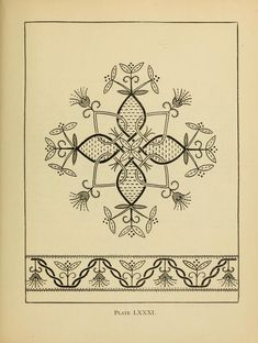"""""""Embroidery Pattern Book"""" - Online Vintage Instruction Book"""