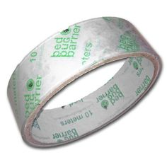 Bed Bug Barrier Tape, Clear, 10 meters x 1 in. by Bed Bug Barrier. $19.99. Entomologist tested: PTFE Teflon tape is guaranteed too slippery for bed bugs to cross on a vertical surface.. Bed bugs can't cross our slippery bed bug barrier tape. Safe and Easy to Clean: Features strong grip with easy release adhesive that won't damage walls or furniture.. Simple to Install: Rolls of tape are 25 mm (1 in.) x 10 meters long so you can cut to any length needed.. Discreet and Affordab...