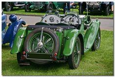 MG J2 Midget 1933 rear - MG J2 Midget 1933. Designed to be a ...