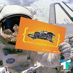 Pessoal! Mandamos algumas campanhas publicitárias pro espaço sideral.
