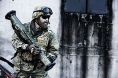 Cutting-edge gear from the recent AUSA 2015 Global Force Symposium that will help America's warfighters own the battlefield! Tactical Beard, Tactical Life, Vikings, Weapons, Military, Soldiers, Sweden, Brother, Tech