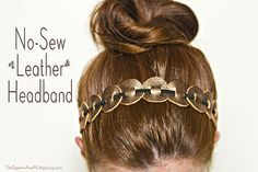 Noe-Sew Leather Headband