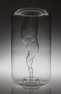 Beautiful Whirlwind Vase by A+A cooren design studio.