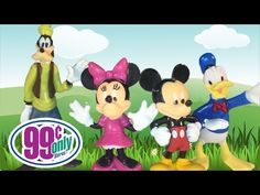 Several Disney Pals Figurines From The Dollar Store - YouTube