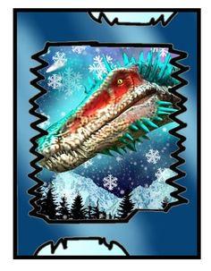 blizzard Dinosaur Posters, Dinosaur Cards, Jurassic World, Jurassic Park, King Card, Power Rangers Ninja Steel, Cool Pokemon Cards, Dinosaur Pictures, Dog Art