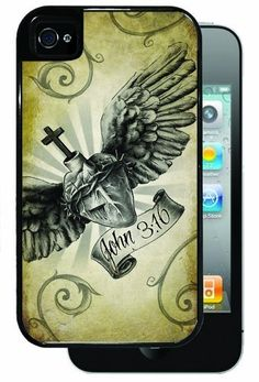 Sacred Heart with John 3:16 - Black iPhone 4, 4s Dual Protective Case by Inked Cases, http://www.amazon.com/dp/B00FAGJWYE/ref=cm_sw_r_pi_dp_9Azvsb0ANATXP