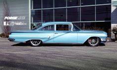 A sneak peek at the latest project from Roadster Shop. This 1960 Chevy Biscayne on Forgeline RB3C Concave wheels is about to rock the pro-touring scene... Learn more about the RB3C at: http://www.forgeline.com/products/concave-series/rb3c-concave.html