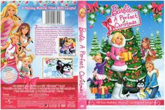 2010 - 2011 Barbie DVD Movie Cover - A Perfect Christmas with sisters Skipper, Stacie and Chelsea American Girl Doll Movies, American Girl Crafts, American Girls, Doll House Crafts, Doll Crafts, Doll Houses, Dollhouse Toys, Dollhouse Miniatures, Barbie Miniatures