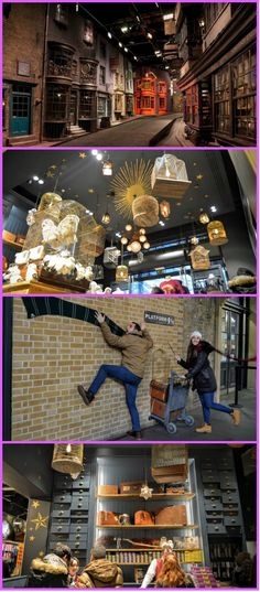 Take your photo on Platform and enter the magical shop, reminiscent of Ollivander's wand shop from the Harry Potter books. Harry Potter London, Harry Potter Shop, Harry Potter Magic, Harry Potter Books, London Location, Ron And Hermione, Magic Shop, Crystal Ball, Platform