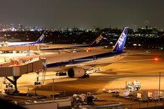 Night scene at Osaka Itami