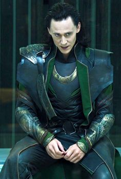 Arrogance in that prison...so hot.  I wouldn't care who saw...I would f**k him so hard into submission, he'd let me rule Asgard myself!