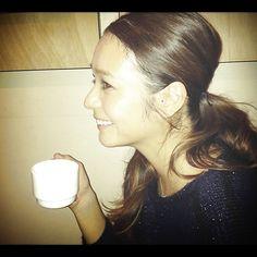 竹下玲奈:やっぱり・・・『落ち着くわ~』同じお茶でも、お店で飲むお茶ってなぜ美味しいのだろ…|BAILA(バイラ)