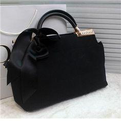 Women bags shoulder New 2016 vintage women bag handbags scarf bow hot sale  high quality famous designer brand bags shoulder messenger bag fashion f171f177e6