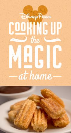 Cooking Up The Magic: Create at Home with Disney Parks Churro Bites Recipe Disney Food, Disney Parks, Disney Recipes, Walt Disney, Churros, Crock Pot Slow Cooker, Slow Cooker Recipes, Churro Bites, Apple Filling