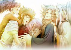 Aries Family ~ Aries Raki - Kiki (Kilian) - Mu - Shion - Sage