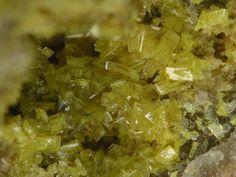 série Parsonsite-Hallimondite. Les Montmins Mine, Echassières, Ebreuil, Allier…
